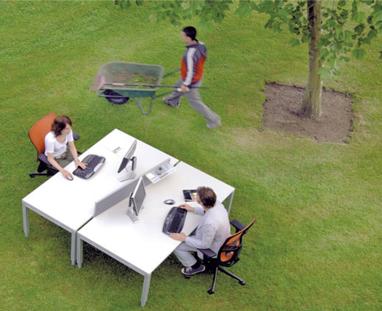 haworth_operativo tavolo ufficio design